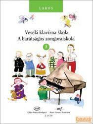A barátságos zongoraiskola 2. (magyar és szlovák nyelven)