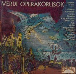 Verdi operakórusok
