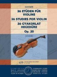 36 gyakorlat Op. 20