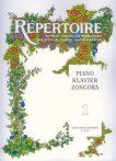 Repertoire zeneiskolásoknak - Zongora 1.