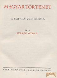 Magyar történet IV. kötet - A tizenhatodik század