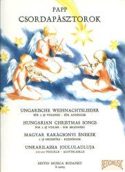 Csordapásztorok - Karácsonyi dalok 2 (3) hegedűre kezdőknek