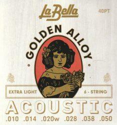 La Bella 40PT húrgarnitúra akusztikus gitárra