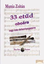 33 etűd oboára vagy más dallamhangszerre