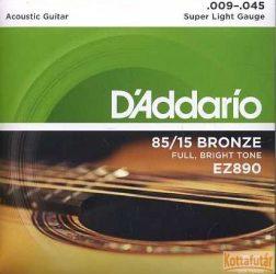 D'Addario EZ890 húrkészlet akusztikus gitárhoz