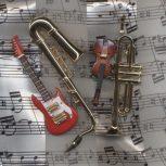 Zenei ajándéktárgyak