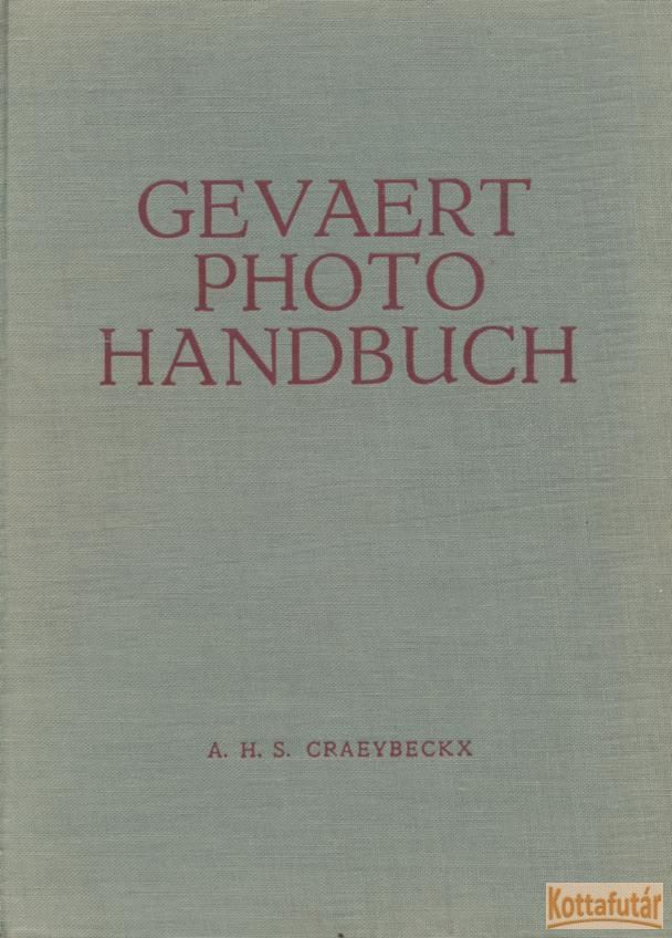 Gevaert Photo Handbuch
