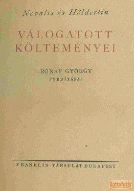 Novalis és Hölderlin válogatott költeményei
