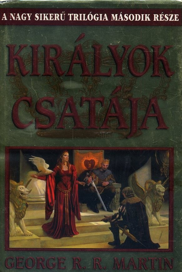 Királyok csatája (Tűz és Jég dalának második kötete)