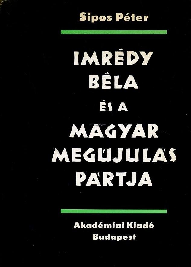 Imrédy Béla és a magyar megújulás pártja