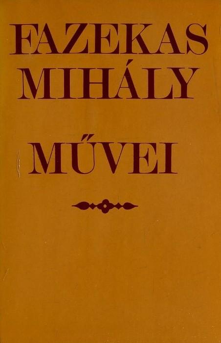 Fazekas Mihály művei