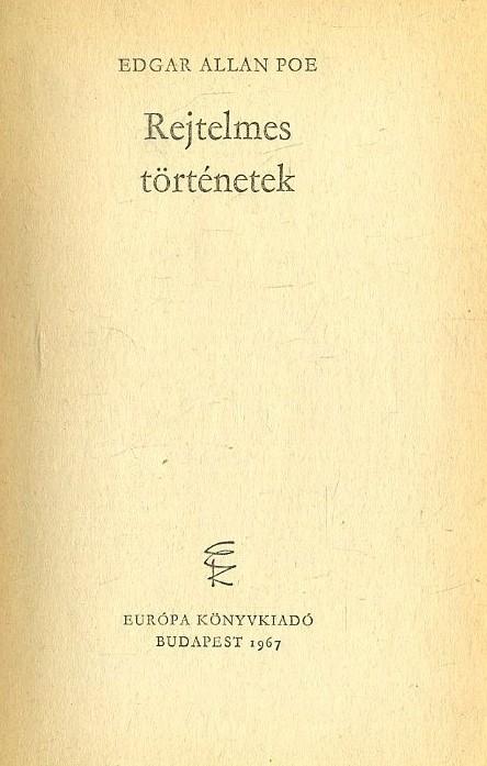 Rejtelmes történetek (1967)