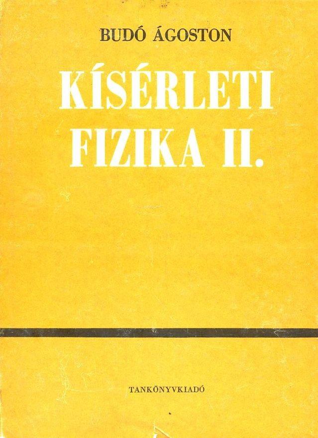 Kísérleti fizika II. (1971)