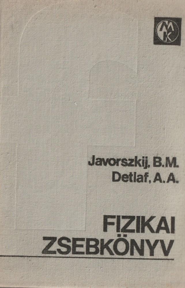 Fizikai zsebkönyv
