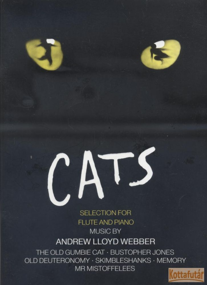Cats - Selection for Flute and Piano