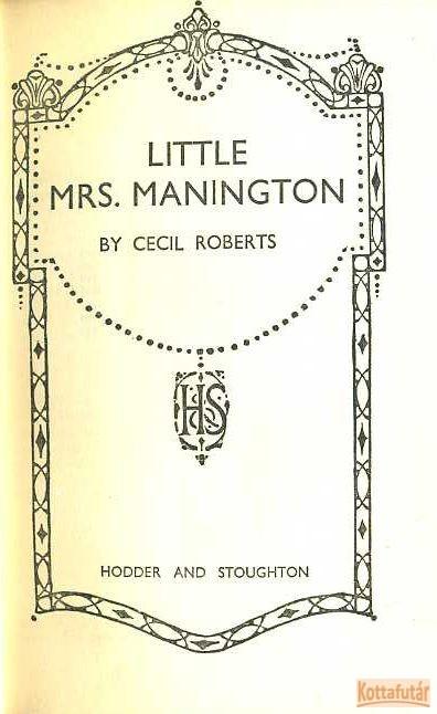 Little Msr. Manington