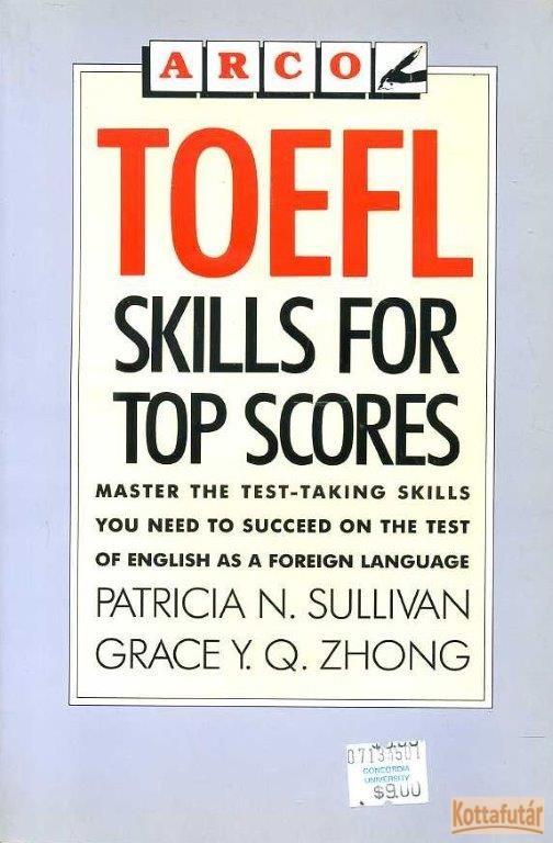 Toefl skills for top scores