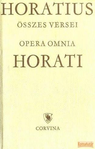 Horatius összes versei