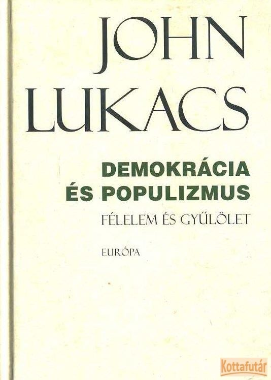 Demokrácia és popultizmus