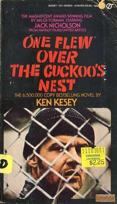 One flew over teh cuckoo's nest