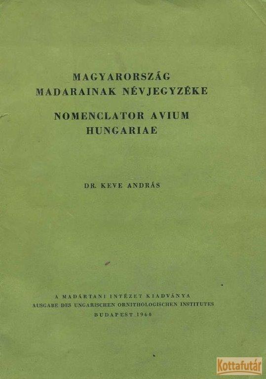Magyarország madarainak névjegyzéke