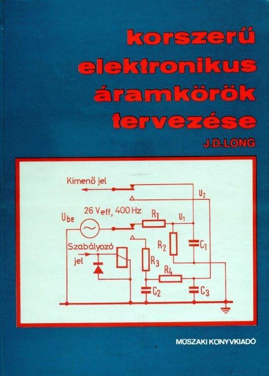 Korszerű elektronikus áramkörök tervezése