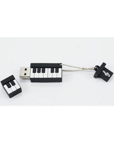 USB Stick 3.0, 32 GB zongorabillentyű mintájú