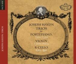 Joseph Haydn - Triók fortepiánóra, hegedűre és csellóra (CD-lemez)