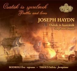 Joseph Haydn - Dalok és kantáták (CD-lemez)