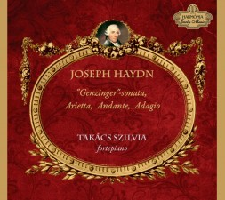 "Joseph Haydn - ""Genzinger""-sonata, Arietta, Andante, Adagio (CD-lemez)"