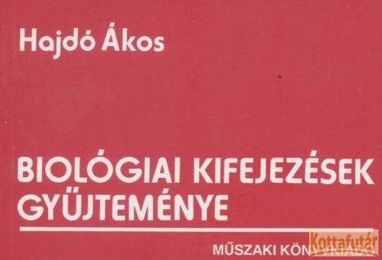 Biológiai kifejezések gyűjteménye