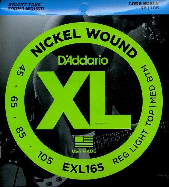 D'Addario EXL165 basszusgitárhúr