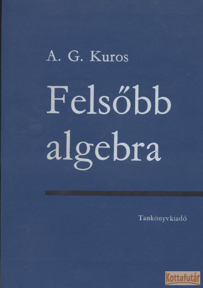 Felsőbb algebra