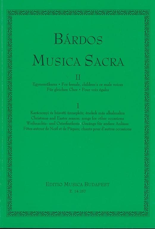 Musica Sacra II.