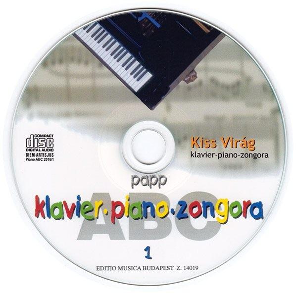 Papp Lajos: Zongora ABC (CD lemez)