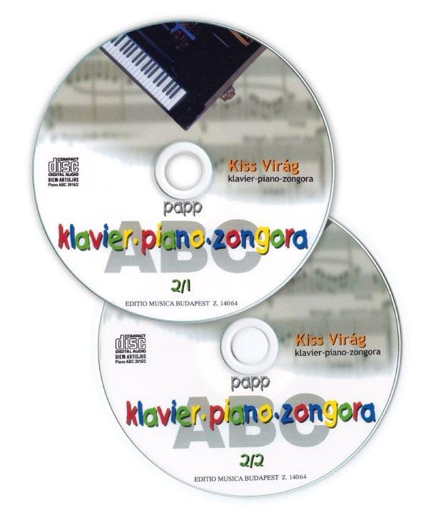 Papp Lajos: Zongora ABC 2. (CD lemez)