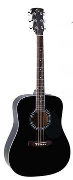 Soundsation Yellowstone DN-BK akusztikus gitár