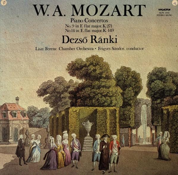 Mozart - Esz-dúr zongoraverseny K. 271 (Jeunehomme) / Esz-dúr zongoraverseny K. 449