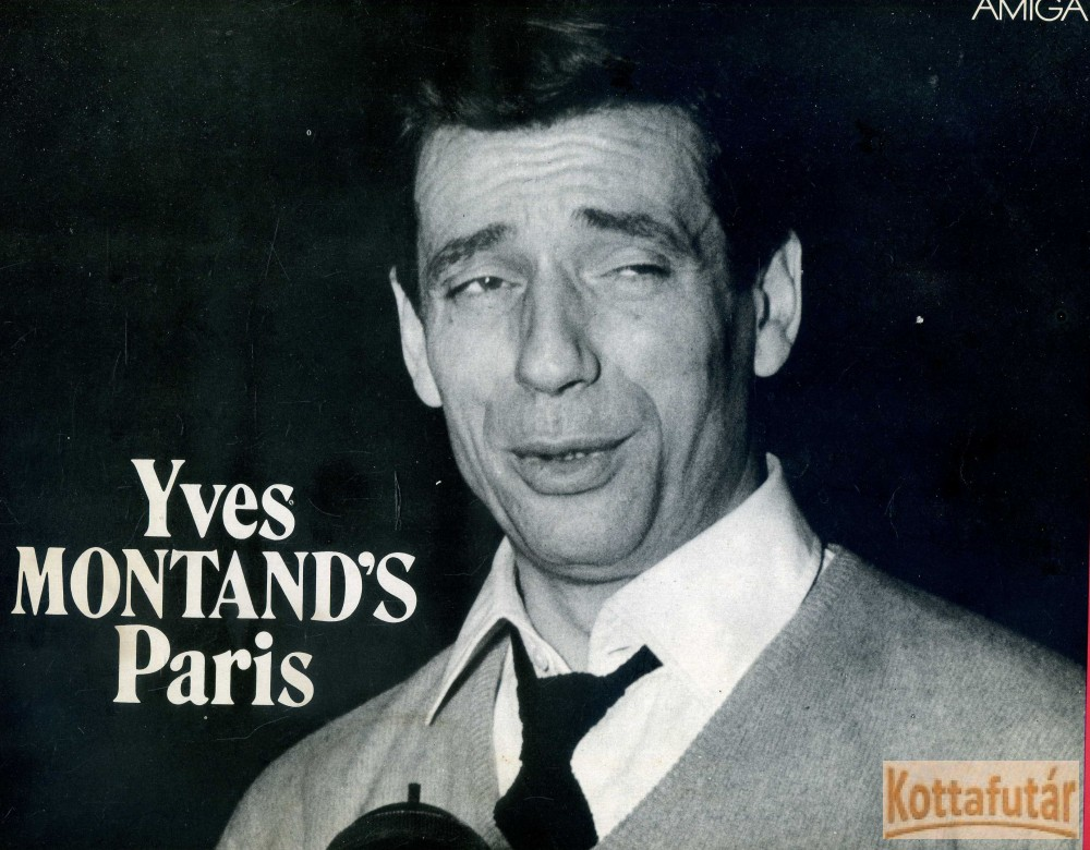 Yves Montand's Paris