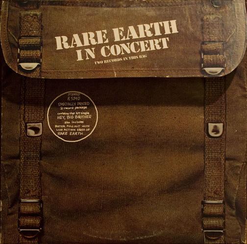 Rare Earth ?– Rare Earth In Concert