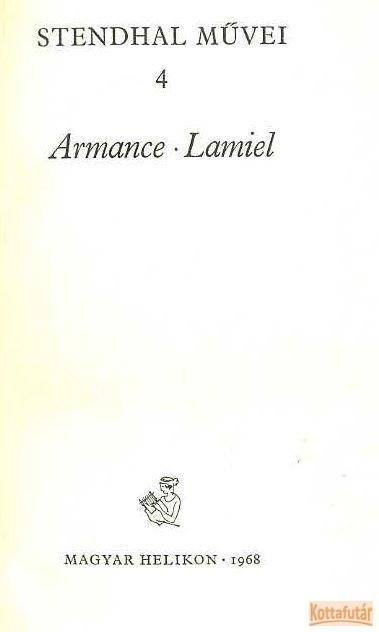 Armance - Lamiel