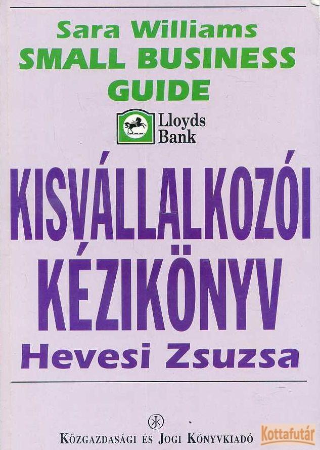 Kisvállalkozói kézikönyv