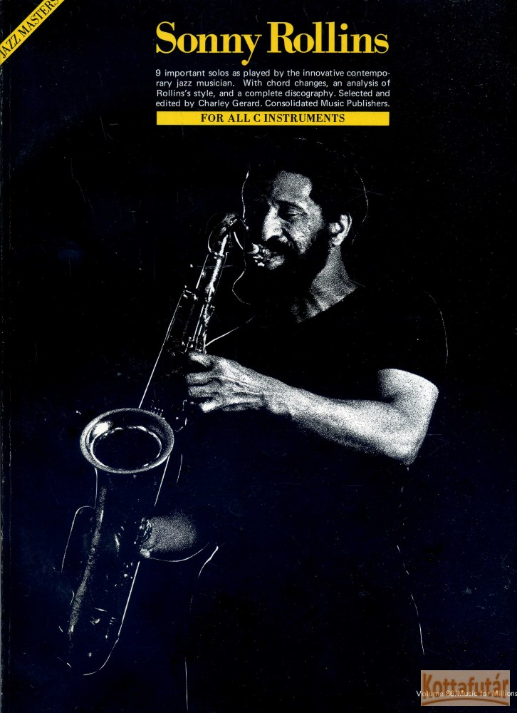 Sonny Rollins (Jazz Masters)