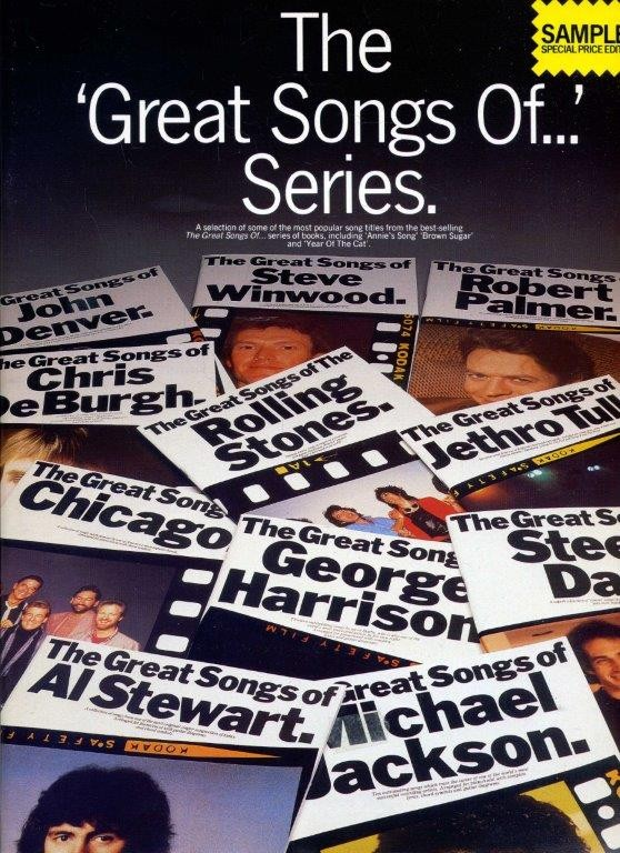 The Great Songs Of...Series