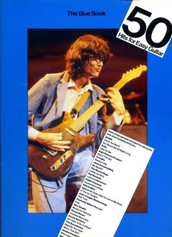 50 Hits for Easy Guitar - The Blue Book