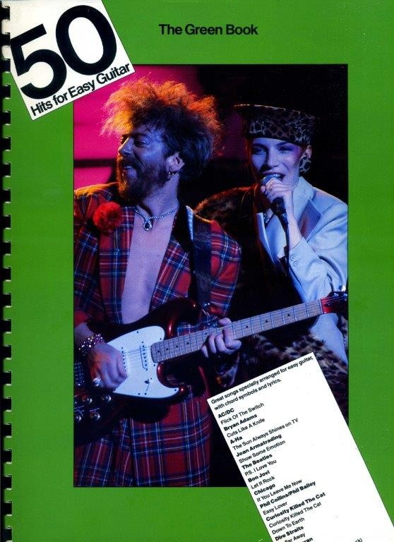 50 Hits for Easy Guitar - The Green Book