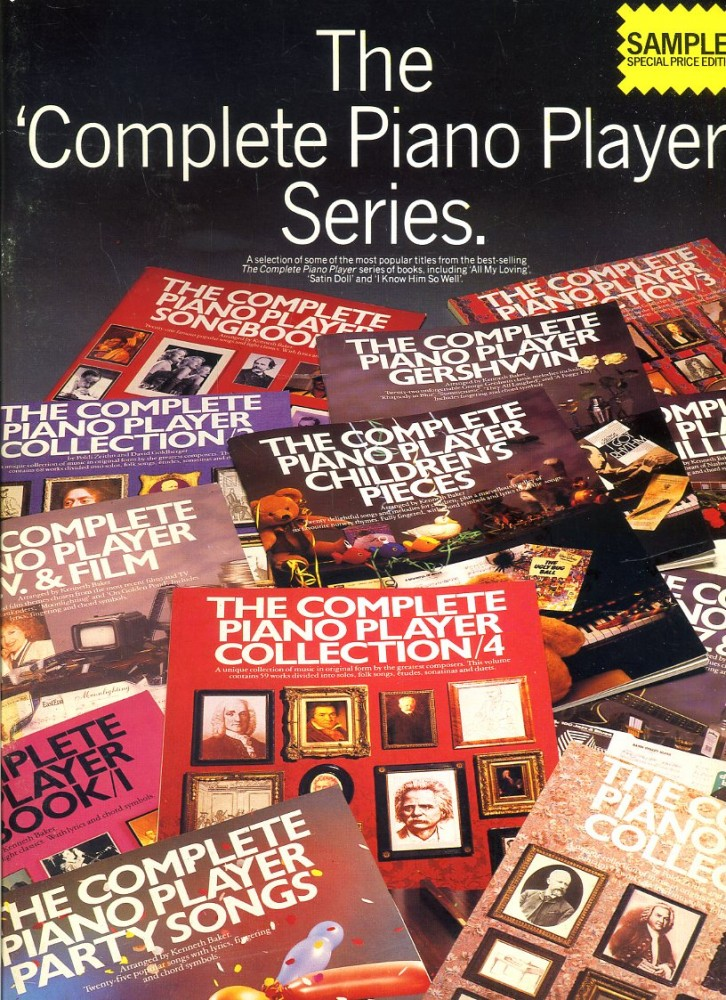 The Complete Piano Player' Series